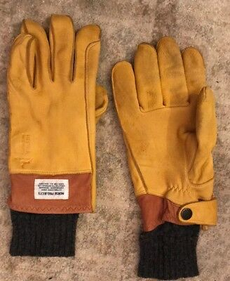 Norse Projects Hestra Leather Gloves Men's