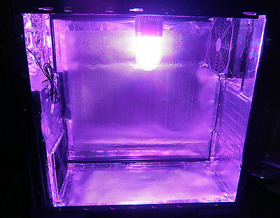 Stealth PC Tent Grow Box Hydroponic 60w Led Grow Light Real Active Carbon Filter