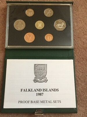 The 1987 Falkland Islands Proof Coin Set