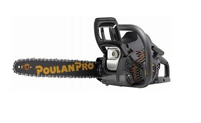 "Poulan Pro, 18"" Gas Chain Saw, 42CC, 2 Cycle Engine"