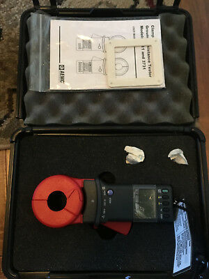 AEMC 3731 Clamp-On Ground Resistance Tester Super Clean! Rarely Used!