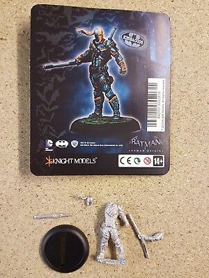 Batman Miniature Game Arkham Origins Deathstroke Knight Models