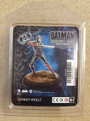 Batman Miniature Game Katana Knight Models