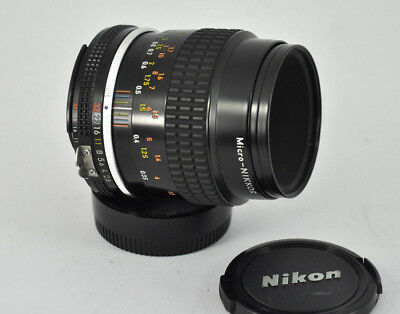 Nikon Ais Ai-S Micro Nikkor 55Mm F2.8 Macro Lens Near Mint Condition