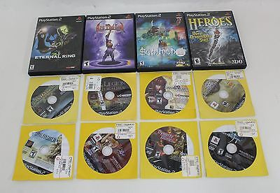 JOB LOT OF 12 PLAYSTATION 2 PS2 Final Fantasy XII Eternal Ring RPG Games NTSC