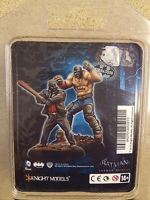 Batman Miniature Game Black Mask Thugs 1 Knight Models