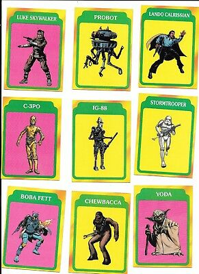 STAR WARS Empire Strikes Back Series 3 III ~ 65 trading cards 1980