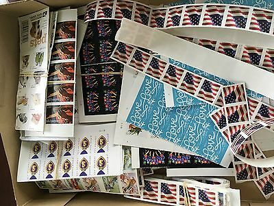 500 Assorted Forever Postage Stamps Retail $245 Mixed styles Flags & More