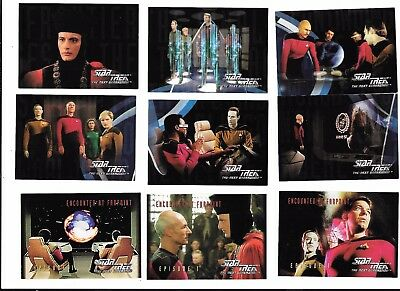 STAR TREK NEXT GENERATION TNG 71 trading cards in box 1994