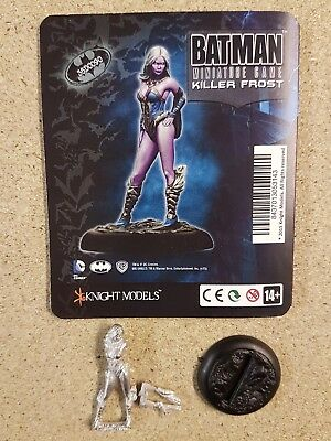 Batman Miniature Game Killer Frost Knight Models