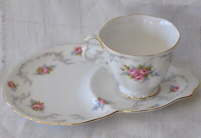 Royal Albert Tranquillity Breakfast/Snack/Tennis Set/ Cup and Plate