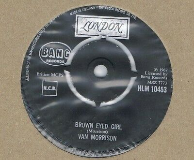 Van Morrison-Brown Eyed Girl/goodbye Baby-Uk London