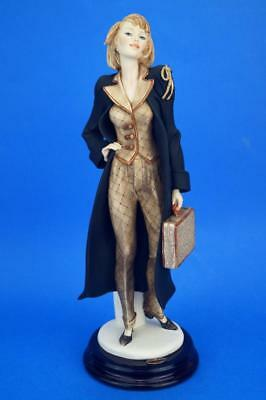 GIUSEPPE ARMANI Florence LADY LAWYER/Law Graduate Figure 'THE DEFENCE' Art Deco