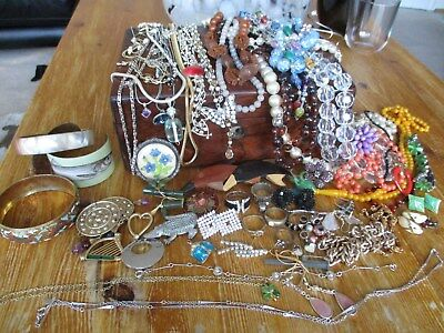 large collection,joblot vintage and modern jewellery approx 70 items..