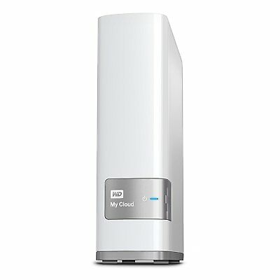 WD 4TB My Cloud Mirror Personal Cloud Storage NAS Drive in White
