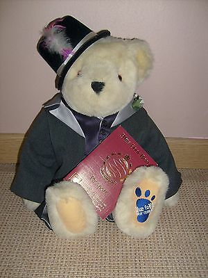 """Ours peluche Blue Bear Company authentique """"Groom"""""""