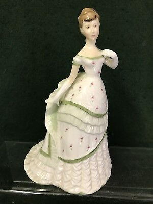 """ROYAL WORCESTER  FIGURINES """"Belle Of The Ball"""""""