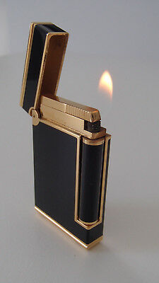 S.T. DUPONT Feuerzeug Chinalack * Lighter chinese lacquer * Briquet laque chine