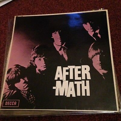The Rolling Stones Lp Aftermath Uk Decca Mono Unboxed Press 4B 6A Grooved Label