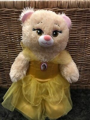 Build A Bear Disney Beauty And The Beast Talking Belle Dress 👗 🎄lots Of Phases