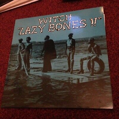 Witch Lazy Bones !! Lp Reissue Shadoks Numbered Afro Rock Psych Fuzz 1975