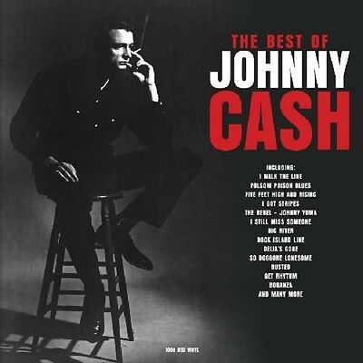 JOHNNY CASH The Best of Johnny Cash - 2LP / Limited Red Vinyl - 180g / Gatefold