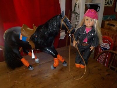 Battat Our Generation Horse And Doll Lot