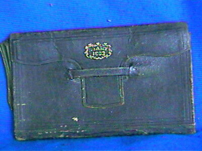 1863 Civil War Soldier DIARY-Henry Clay West-CO G,36th Regmnt-leather-pencil/pen
