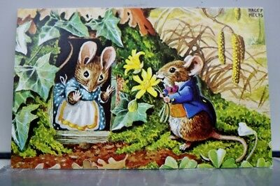 Art Racey Helps Mouse's Birthday Postcard Old Vintage Card View Standard Post PC