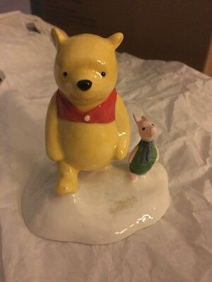 Royal Doulton Winnie the Pooh The More It Snows