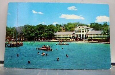 Texas TX Fort Worth Forest Park Swimming Pool Postcard Old Vintage Card View PC