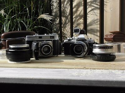 Rare Kodak Retina Heligon C lens set for Micro Four Thirds + Original camera