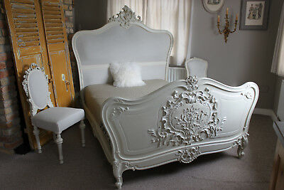 French schabby chic Louis XV bed c. 1850