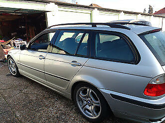 E46 330i Touring Manual with MV1s 18 inch wheels and many New Uprated Parts