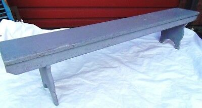 Antique Bench Mortise & Tenon 1800' s Chestnut Wood Country Porch 6 ft