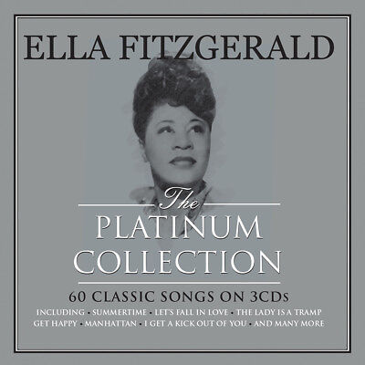 Ella Fitzgerald PLATINUM COLLECTION Best Of 60 Songs ESSENTIAL New Sealed 3 CD
