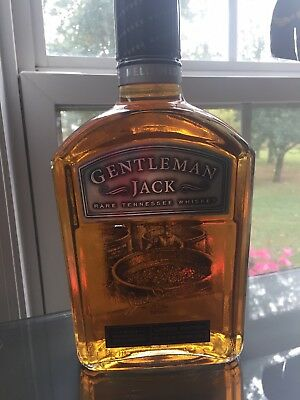 Jack Daniels Gentleman Jack Etched.  Green, barrel house, master, scenes, select