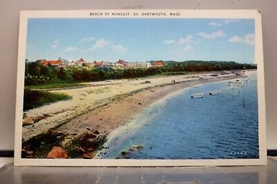 Massachusetts MA South Dartmouth Nonquit Beach Postcard Old Vintage Card View PC