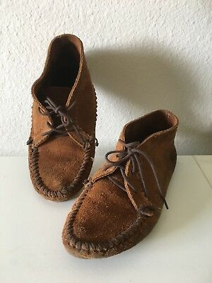 Pre owned  Native American Women Minnetonka Shoes Leather Size 7 Project Shoes