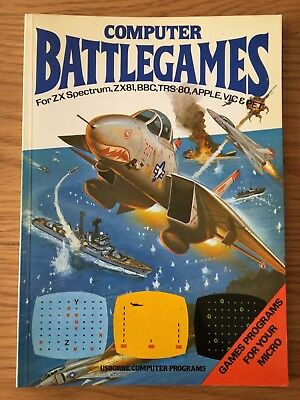 ZX Spectrum / Commodore / BBC Book - Computer Battlegames by Usborne
