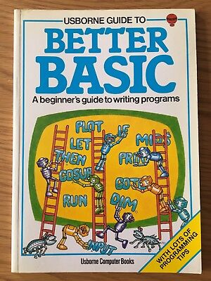 ZX Spectrum / Commodore / BBC Book - Better Basic by Usborne