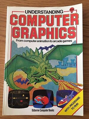 ZX Spectrum / Commodore / BBC Book - Understanding Computer Graphics by Usborne