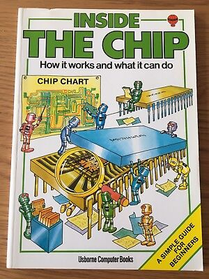 ZX Spectrum / Commodore / BBC Book - Inside the Chip by Usborne