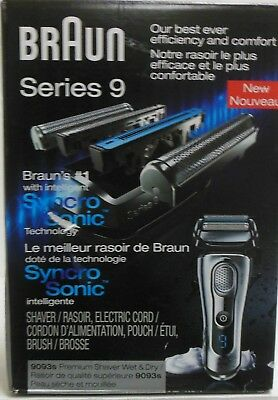 Braun 9093s Series 9 Cordless Rechargeable  Men's Electric Shaver