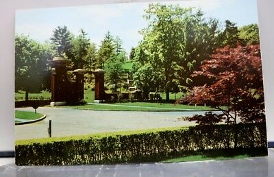 New York NY Schenectady Central Park Entrance Postcard Old Vintage Card View PC