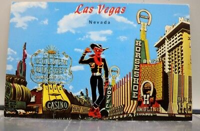 Nevada NV Las Vegas Casino Center Postcard Old Vintage Card View Standard Post