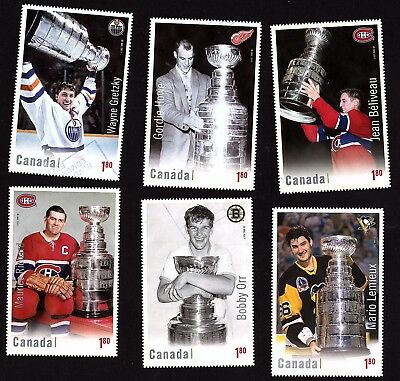 Canada 2017 Hockey ; Complet set Souvenir Sheet ;  USED VERRY FINE