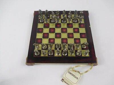 MANOPOULOS  Chess Board and Set