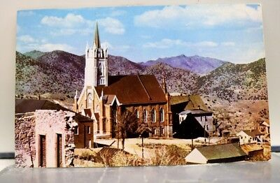 Nevada NV St Marys In the Mountains Virginia City Postcard Old Vintage Card View