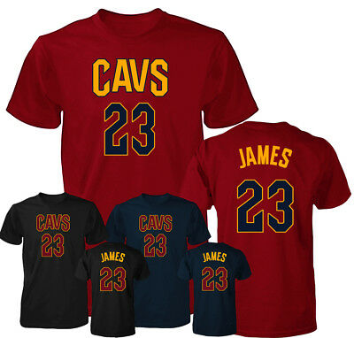 new products f7109 603f3 CLEVELAND CAVALIERS LEBRON James Jersey Men's T Shirt